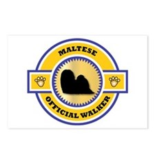 Maltese Walker Postcards (Package of 8)