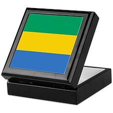 Flag of Gabon Keepsake Box