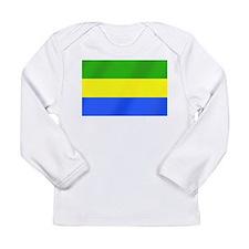 Flag of Gabon Long Sleeve Infant T-Shirt