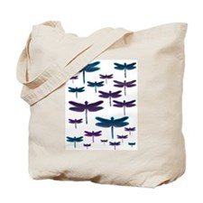 Dragonfly Gems Tote Bag