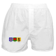 Peace Love Hiking Boxer Shorts