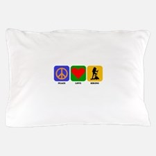 Peace Love Hiking Pillow Case