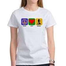 Peace Love Hiking T-Shirt