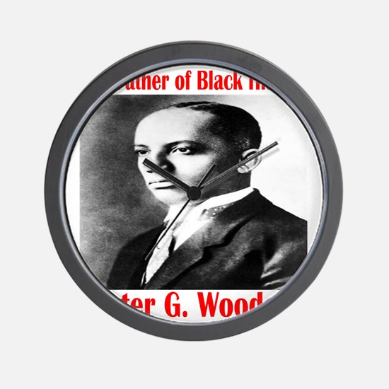 CarterGWoodson Wall Clock