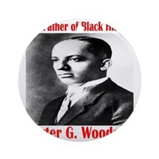 CarterGWoodson Round Ornament