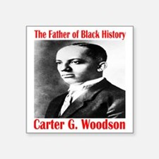 "CarterGWoodson Square Sticker 3"" x 3"""
