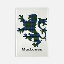Lion - MacLaren Rectangle Magnet