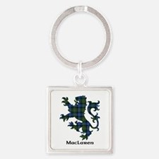 Lion - MacLaren Square Keychain