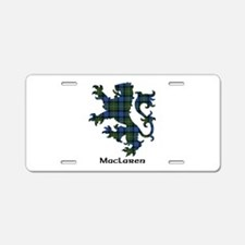 Lion - MacLaren Aluminum License Plate