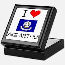 I Love LAKE ARTHUR Louisiana Keepsake Box