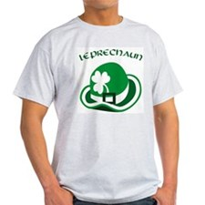 Leprechaun Ash Grey T-Shirt