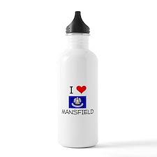 I Love MANSFIELD Louisiana Water Bottle