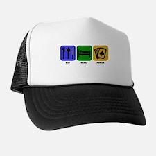 Eat Sleep Poker Trucker Hat