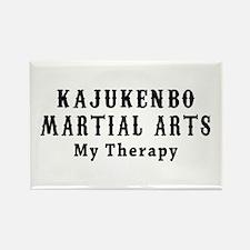 Kajukenbo Martial Art My Therapy Rectangle Magnet