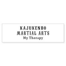 Kajukenbo Martial Art My Therapy Bumper Sticker