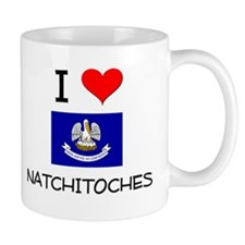 I Love NATCHITOCHES Louisiana Mugs