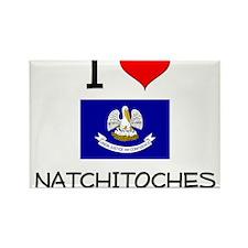 I Love NATCHITOCHES Louisiana Magnets