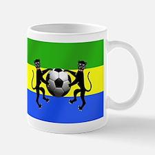 Gabonese Football Flag Mug