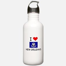 I Love NEW ORLEANS Louisiana Water Bottle
