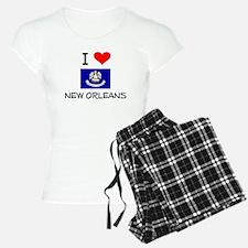 I Love NEW ORLEANS Louisiana Pajamas