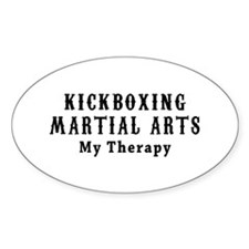Kickboxing Martial Art My Therapy Decal
