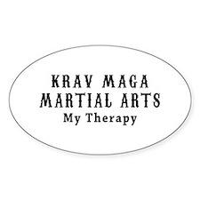 Krav Maga Martial Art My Therapy Decal