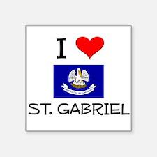 I Love ST. GABRIEL Louisiana Sticker