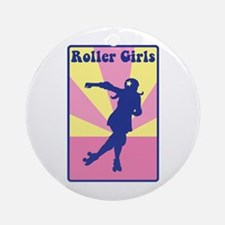 Roller Girls Ornament (Round)