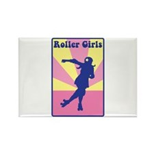 Roller Girls Magnets