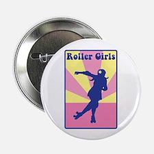 """Roller Girls 2.25"""" Button (10 pack)"""