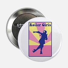 """Roller Girls 2.25"""" Button"""