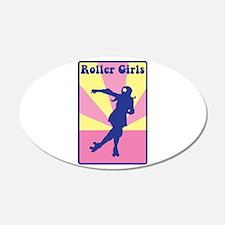 Roller Girls Wall Decal