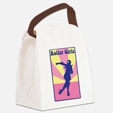 Roller Girls Canvas Lunch Bag