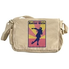 Roller Girls Messenger Bag