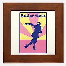 Roller Girls Framed Tile