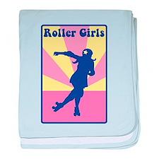 Roller Girls baby blanket