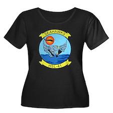 hsl-41_sea_hawks.png Plus Size T-Shirt