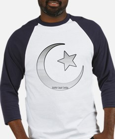 Silver Star and Crescent Baseball Jersey
