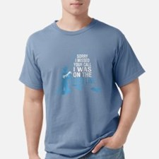 I Was On Other Line Fishing T Shirt T-Shirt