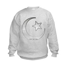 Silver Star and Crescent Sweatshirt