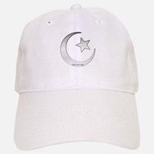 Silver Star and Crescent Baseball Baseball Cap