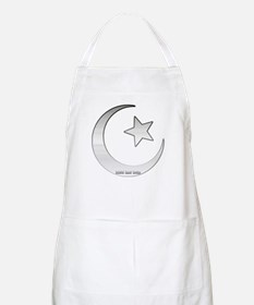 Silver Star and Crescent BBQ Apron