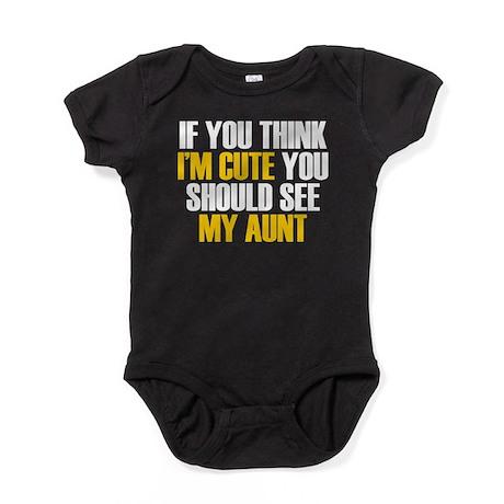 My Cute Aunt Baby Bodysuit