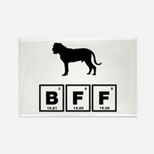 Bullmastiff Rectangle Magnet (100 pack)