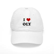 I Love OLY Baseball Cap