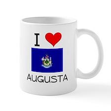 I Love Augusta Maine Mugs