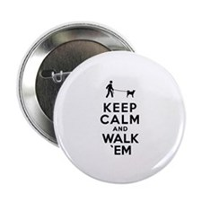 """Canaan Dog 2.25"""" Button (100 pack)"""
