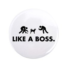 "Canaan Dog 3.5"" Button"