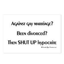 Divorced Dimwits Postcards (Package of 8)
