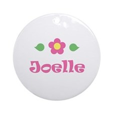 """Pink Daisy - """"Joelle"""" Ornament (Round)"""